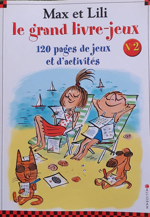 Max et Lili le grand Livre-jeux Like New Not Applicable  (4613604278327)