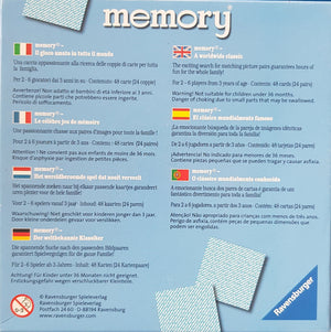 Memory Game Very Good, 3+ Age Ravensburger  (6614197174457)