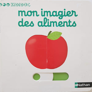 mon imagier des aliments Like New Not Applicable  (4593185620023)