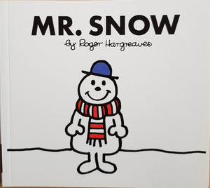 Mr. Snow Like New Mr Men/Little Miss  (4615786364983)