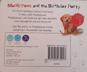 Muddy Paws and the Birthdat party Like New,English Recuddles.ch  (6088029569209)