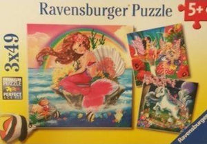 Mythical Creatures Puzzle Like New Ravensburger  (4622920286263)