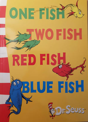 One fish two fish red fish blue fish Like New Dr seuss  (6049524515001)