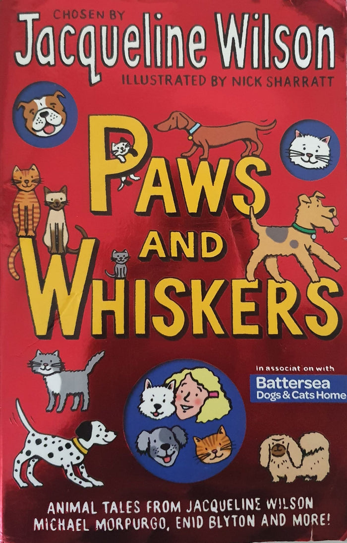 Paws and Whiskers by Jacquiline Wilson