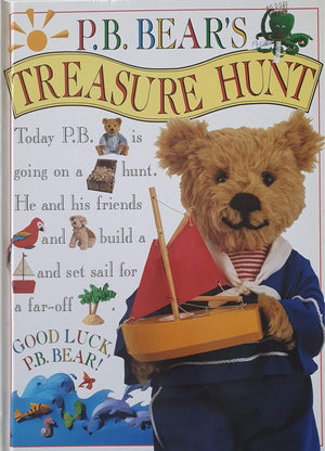 P.B. BEAR'S TREASURE HUNT Like New Recuddles.ch  (6322241929401)