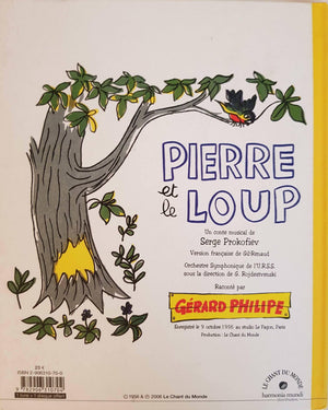 Pierre et le loup Like New Not Appicable  (4619395203127)