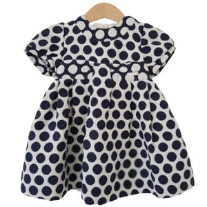 Polka Dot Dress Mayoral, 0-1 year Mayoral  (4608318177335)