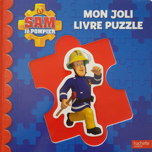 Sam le Pompier mon Joli livre puzzle Like New Not Applicable  (4593185292343)