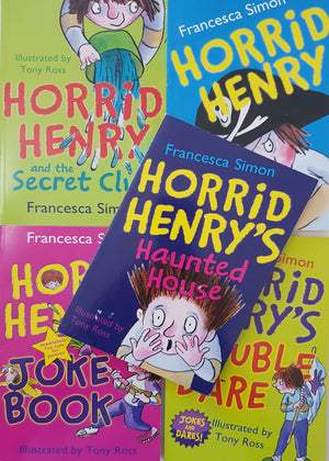 Set of 10 books: Horrid Henry Very Good Horrid Henry  (4597649506359)