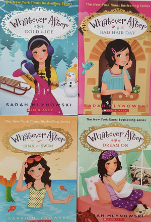 Set of 4 books: Whatever After Like New Not Applicable  (4602615726135)