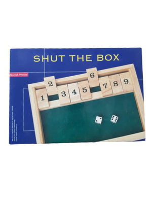 Shut The Box New with Tags Not Applicable  (4607990857783)