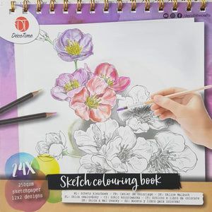 Sketch Colouring Book Like New Recuddles.ch  (6250210721977)