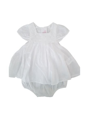 Solid white frock Bodysuit Repetto,3 months (60 cm) Repetto  (4612026826807)