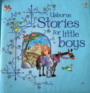 Stories for Little boys Like New Usborne  (6264264425657)