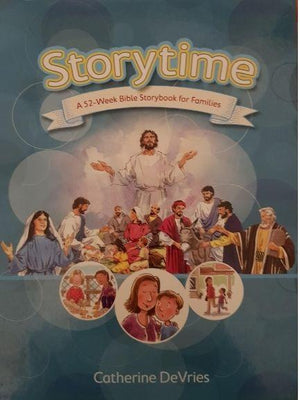 Storytime A 52-Week Bible Storybook for Families Like New Recuddles.ch  (4627979894839)