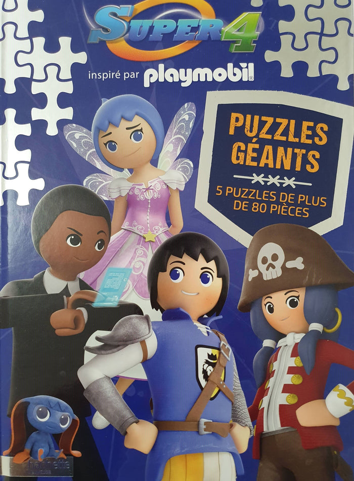 Super 4-Puzzles Géants
