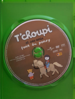 T'choupi et ses amis font du poney DVD,French ReCuddles  (6215550075065)