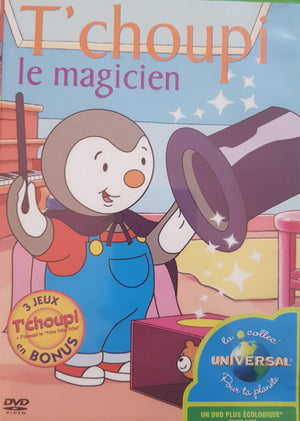 T'choupi le magicien DVD,French ReCuddles  (6215549616313)
