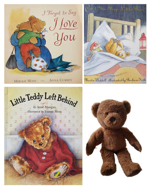 Teddy 3 books+Toy Very Good, 3-5 Yrs Book Sets  (6301219913913)