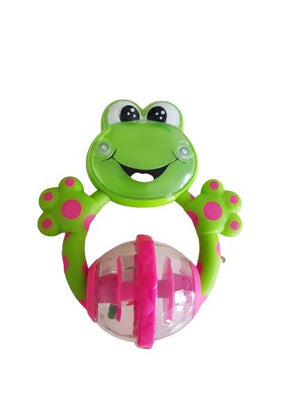 Teething Frog Rattle Very Good The Gift Box Project  (6114660614329)