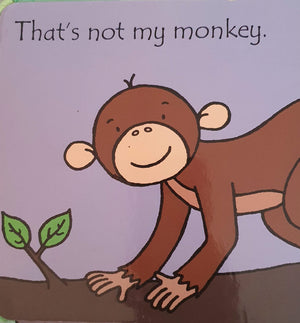 That's not my monkey Very Good,English Recuddles.ch  (6088029733049)
