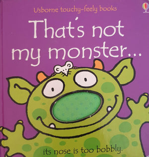 That's not my monster Well Read,English Recuddles.ch  (6088029339833)