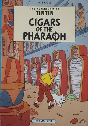 The Adventures of TinTin - Cigars Of The Pharaoh Like New Tintin  (6176346374329)