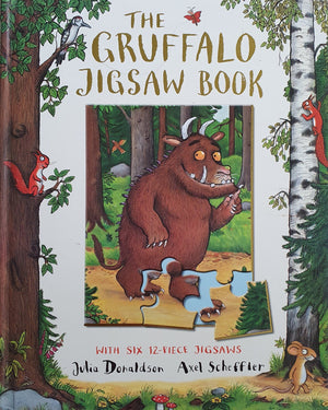 The Gruffalo Jigsaw Book Like New Julia Donaldson  (4613604966455)
