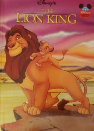 The Lion King Like New Disney  (4624871587895)