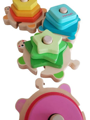 The Turtle with shapes and colours Very Good The Gift Box Project  (6114661171385)