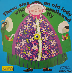 There was an Old lady who swallowed a fly Like New Not Applicable  (4593185783863)