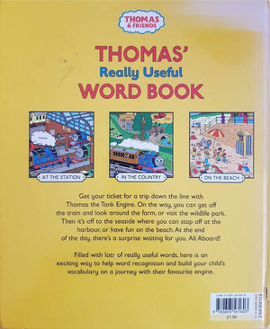 THOMAS -Really Useful WORD BOOK Very Good Thomas & Friends  (6203873067193)