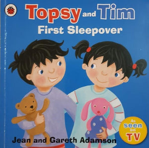 Topsy and Tim: First Sleepover Well Read Recuddles.ch  (6207111069881)