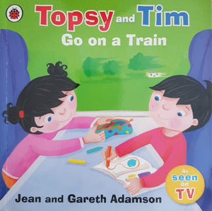 Topsy and Tim Go on a Train Very Good Topsy and Tim  (6203873820857)