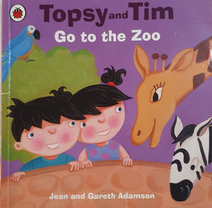Topsy and Tim: Go to the Zoo Well Read Topsy and Tim  (6235114406073)