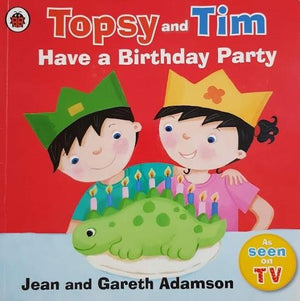 Topsy and Tim: Have a Birthday Party Well Read Brand-Topsy and Tim  (6207111037113)