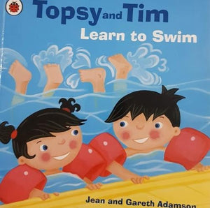 Topsy and Tipsy Learn To Swim Well Read Brand-Topsy and Tim  (6207111004345)