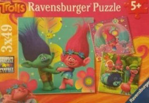 Trolls Puzzle Like New Ravensburger  (4622920253495)