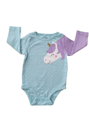 Unicorn Body Suit Carter's, 6 months Carter's  (4608319881271)