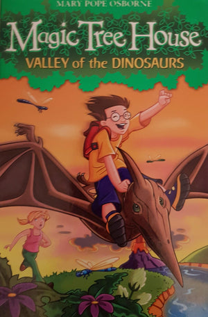 Valley of the Dinosaurs Like New Magic Tree House  (4621818757175)
