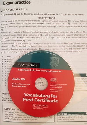 Vocabulary for First Certificate Like New Not Appicable  (4619394514999)