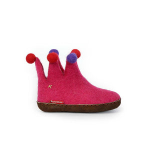 The Jester for Kids - Pink with Leather