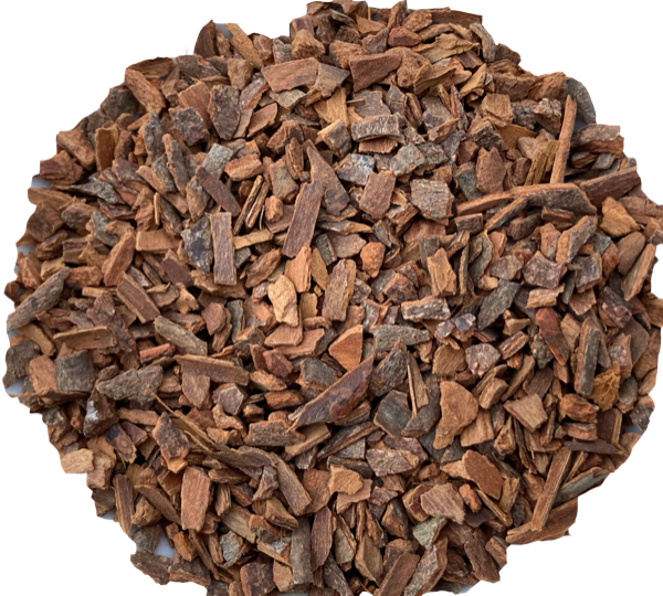 Cinnamon Organic bark, coarsely chopped