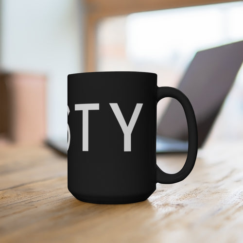 TASTY - Black Mug 15oz