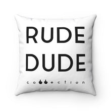 Load image into Gallery viewer, HO HO F*CKIN HO - Spun Polyester Square Pillow