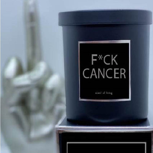 F*CK CANCER Candle - Scent of Living