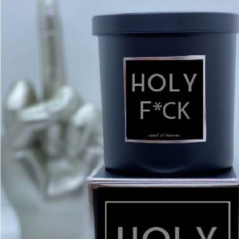 HOLY F*CK Candle - Scent of Heaven