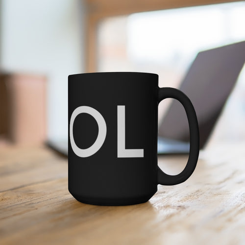 COOL - Black Mug 15oz