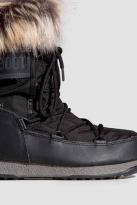 BUTY MOON BOOT MONACO LOW WP 2 BLACK