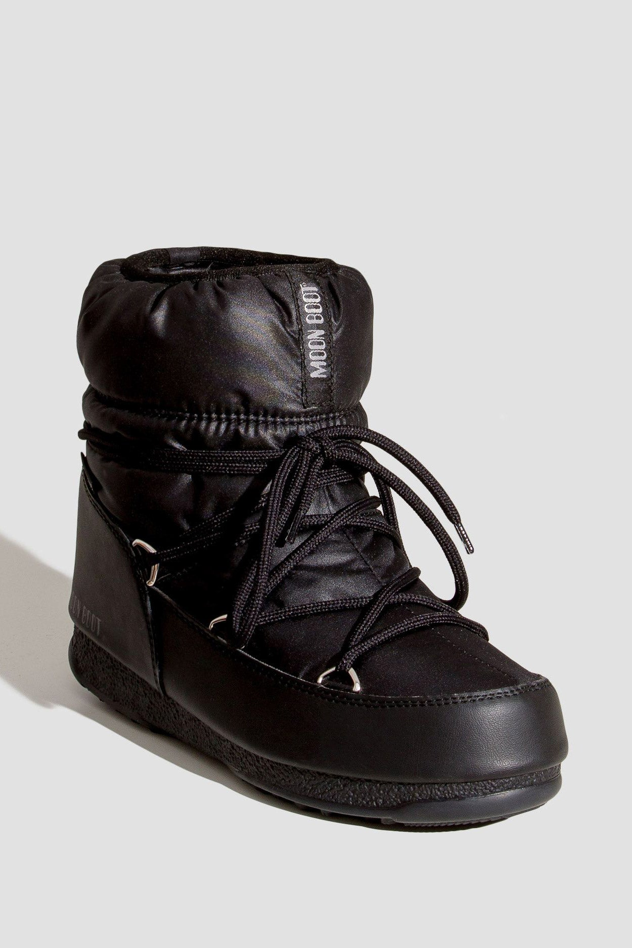 BUTY MOON BOOT LOW NYLON WP 2 BLACK